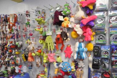 Lots of toys for your cute doggie!!