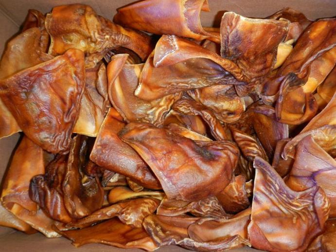 Pig ears are a healthy treat!!